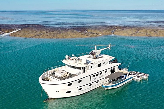 Liveaboard Kimberley Quest