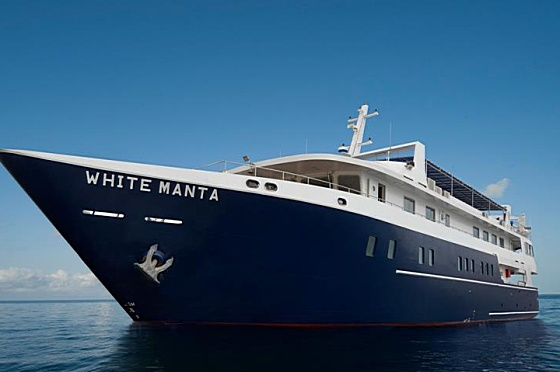 Liveaboard Indonesia White Manta